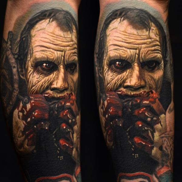 Arm Fantasie Zombie Tattoo von Nikko Hurtado
