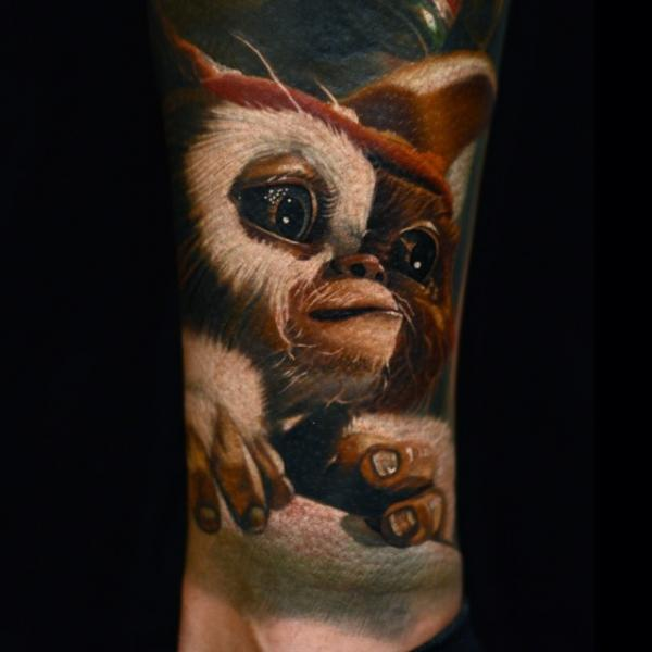 Fantasy Gremlin Tattoo by Nikko Hurtado