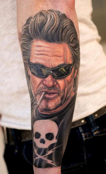 Portrait Realistic Tattoo by Nikko Hurtado