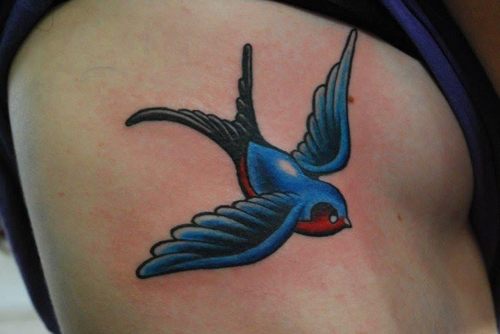 Seite Spatz Tattoo von Face Tattoo