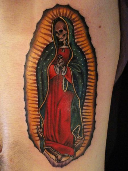 Religious Tattoo by La Florida Ink