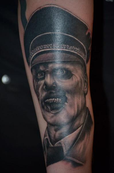 Arm Fantasy General Tattoo by Freaky Colours