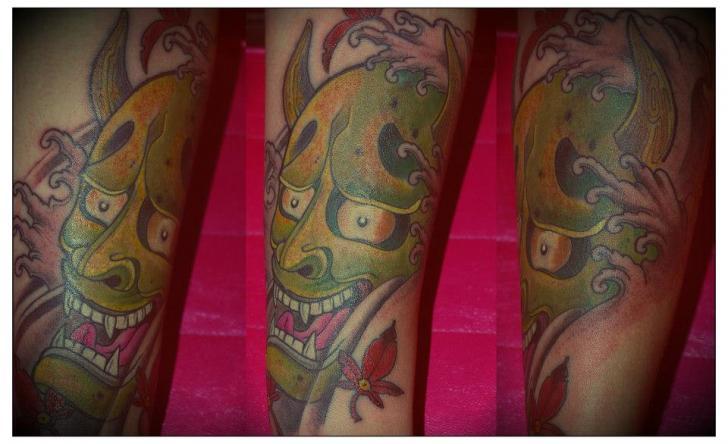 Arm Japanische Drachen Tattoo von Salo Tattoo