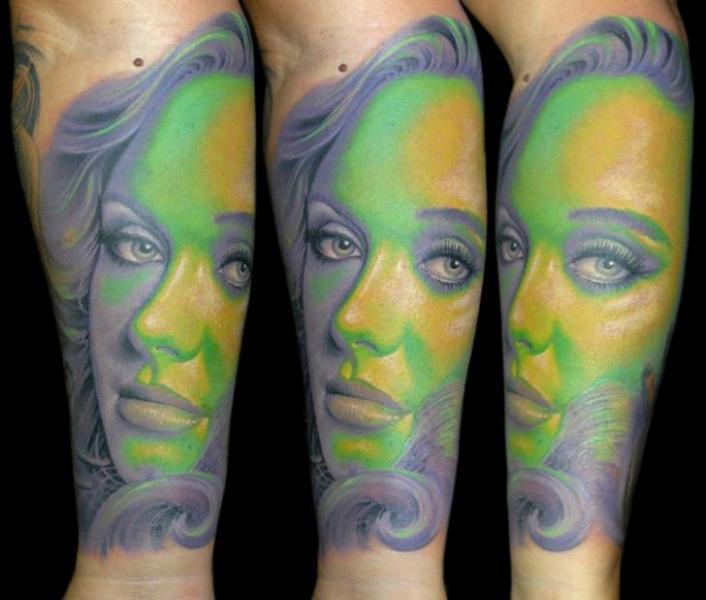 Arm Women Tattoo by James Tattoo Art