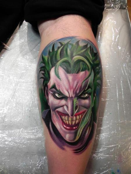 Tatuaje Fantasy Ternero Comodín por Rock Ink