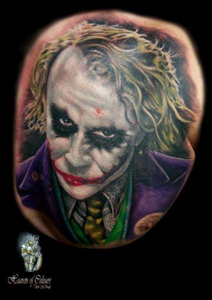 Tatuaje Fantasy Comodín por Heaven Of Colours