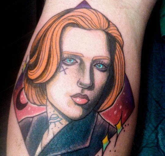 New School Men Tattoo by La Mano Zurda