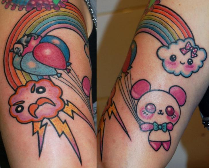 Arm Fantasy Tattoo by Stademonia Tattoo