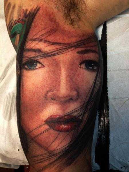 Arm Women Tattoo by Wanted Tattoo