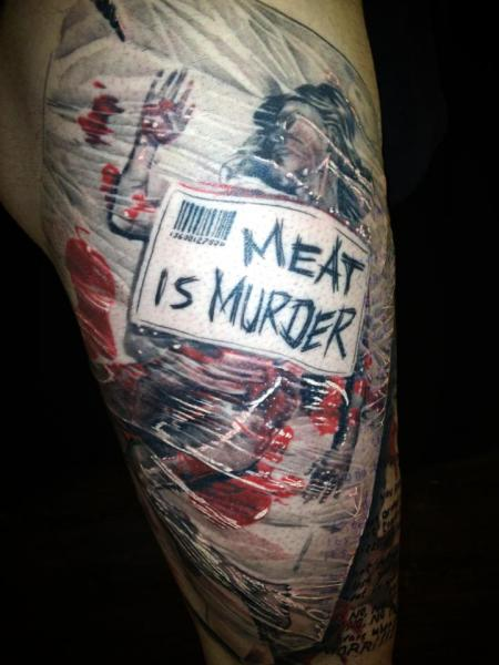 Tatuaje Brazo Fantasy por Mia Tattoo