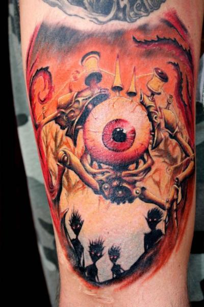 Arm Eye Tattoo by North Side Tattooz