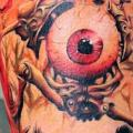 Arm Auge tattoo von North Side Tattooz