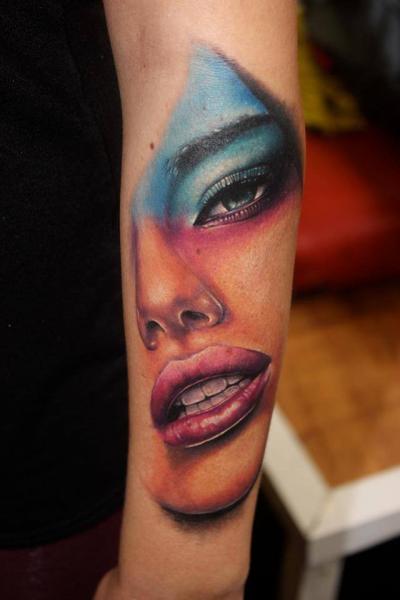 Arm Women Tattoo by North Side Tattooz