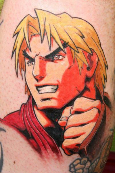 Fantasy Comic Tattoo by North Side Tattooz
