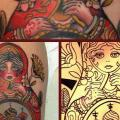 New School Matryoshka tattoo by Mikael de Poissy