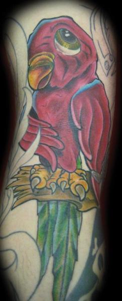 Papagei Tattoo von Physical Graffiti