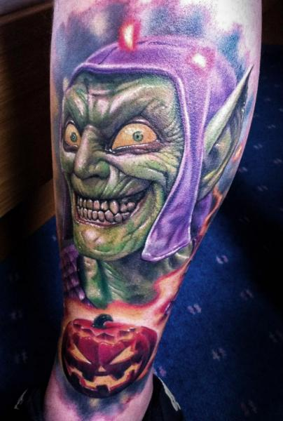Fantasy Goblin Tattoo by Corpse Painter