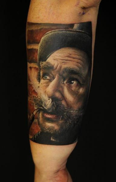Arm Portrait Realistic Tattoo by Vicious Circle Tattoo