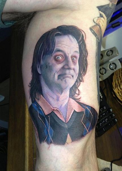 Arm Portrait Tattoo by David Corden Tattoos