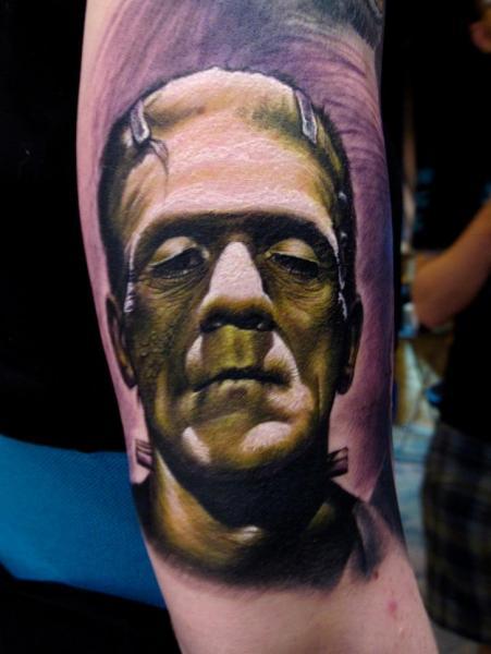 Fantasy Frankenstein Tattoo by Stefano Alcantara