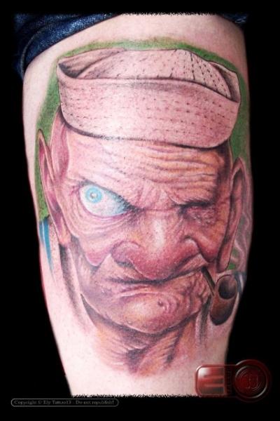 Fantasy Men Tattoo by Amor De Madre