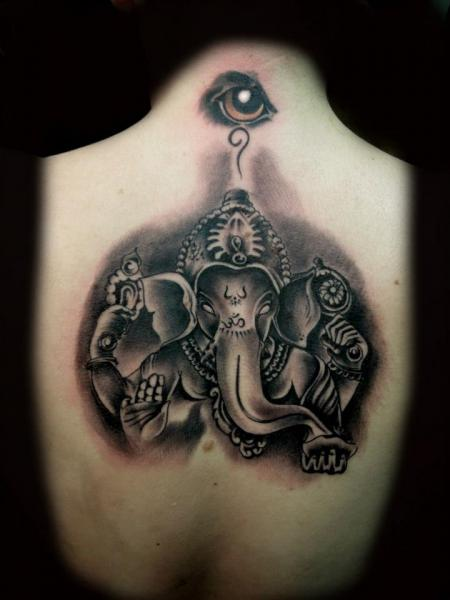 Back Religious Tattoo by Original Tattoo