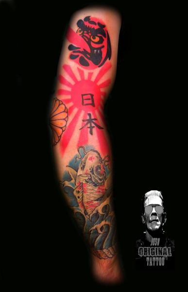 Japanese Sleeve Tattoo by Original Tattoo