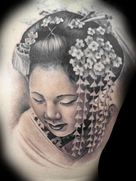 Tatuaggio Giapponesi Geisha di Demon Tattoo