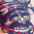 Old School Pirat tattoo von Forever True Tattoo