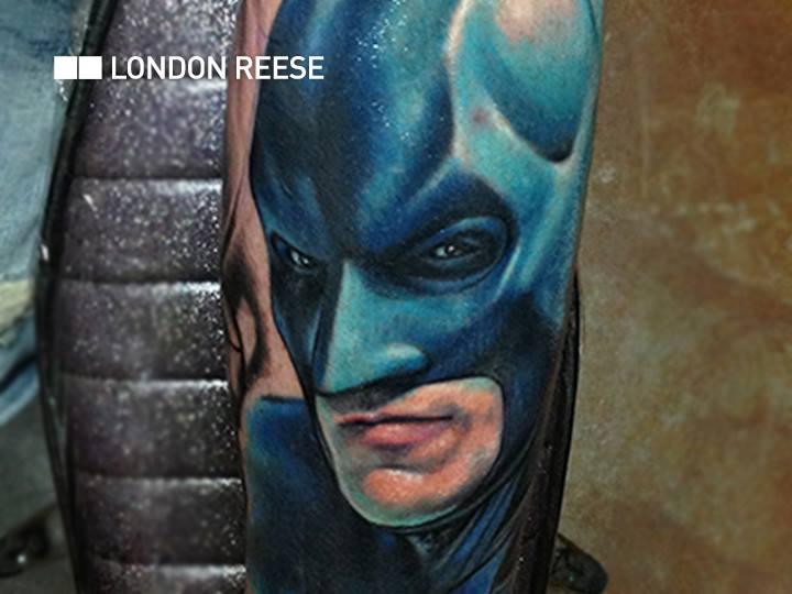 Arm Fantasie Batman Tattoo von Bang Bang NYC