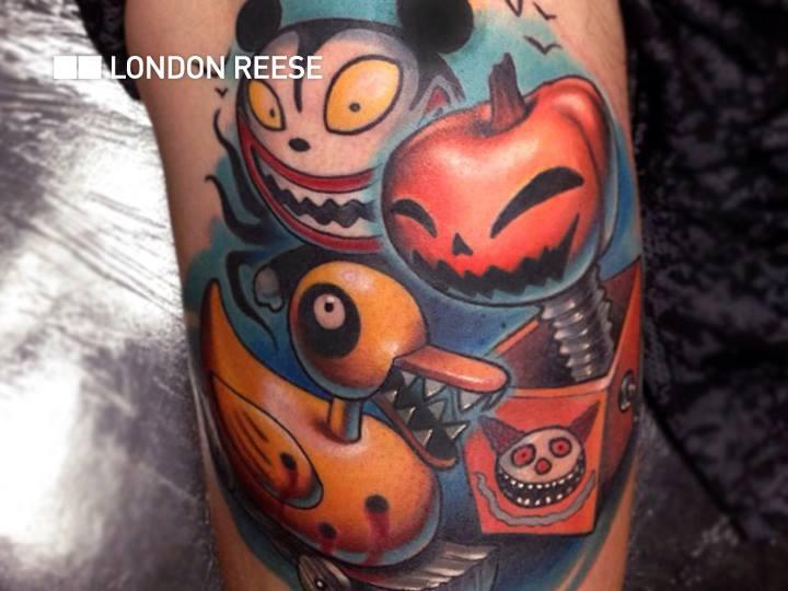 Arm Fantasy Tattoo by Bang Bang NYC