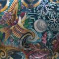 Fantasie Rücken tattoo von Chalice Tattoo