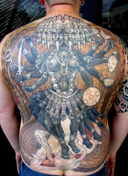 Back Religious Tattoo by Dead God Tattoo
