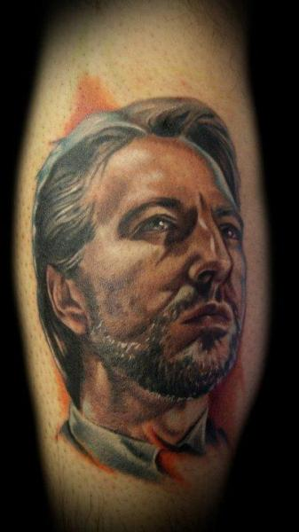 Arm Portrait Realistic Tattoo by Kelly Doty Tattoo
