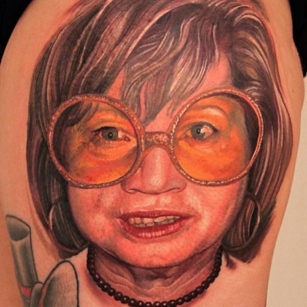 Tatuaggio Braccio Ritratti Realistici di Boris Tattoo