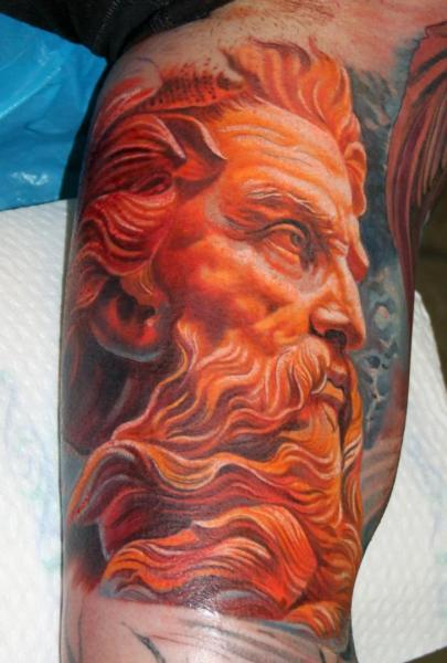 Tatuaggio Braccio Religiosi Dio di Boris Tattoo