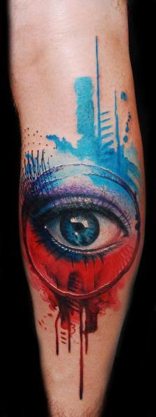 Tatuaje Brazo Fantasy Ojo por Ink-Ognito