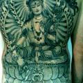 Japanische Rücken Po tattoo von Holy Trauma