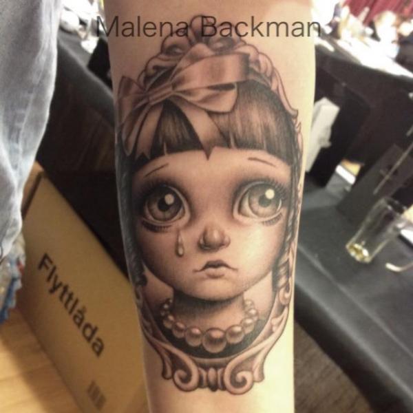 Arm Fantasy Children Tattoo by Pistolero Tattoo