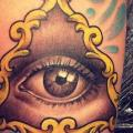 Arm Auge Gott tattoo von Pistolero Tattoo