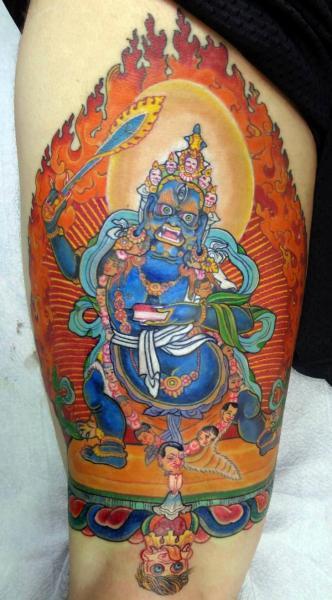 Arm Religiös Tattoo von Insight Studios