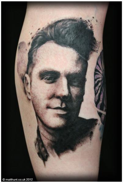 Arm Portrait Realistic Tattoo by Matt Hunt