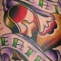 tatuaggio Braccio Fantasy Scritte Carne di Babakhin