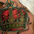 Hand Crown tattoo by Babakhin