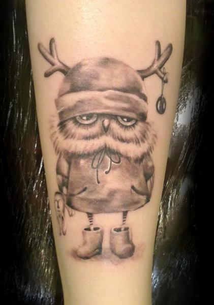 Tatuaggio Braccio Fantasy Personaggi di Style Tattoo