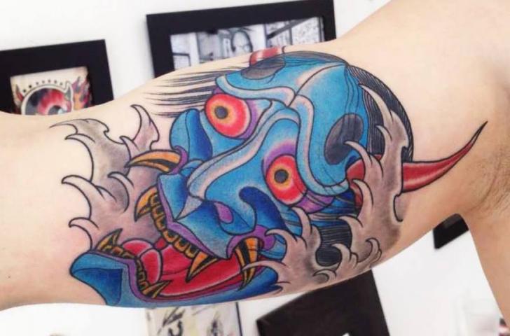 Arm Japanische Drachen Tattoo von Style Tattoo