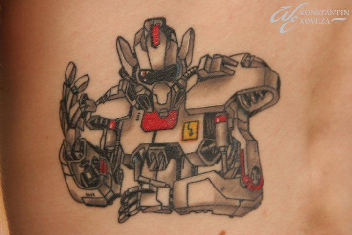 Fantasie Roboter Tattoo von West End Studio