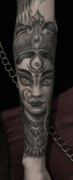 Arm Woman Tattoo by Saved Tattoo