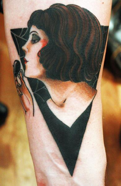 Arm Women Tattoo by Saved Tattoo