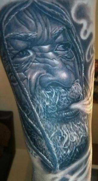 Arm Portrait Realistic Tattoo by Tattoos by Mini